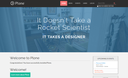 Spot theme for Plone 5