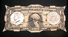 Dollar and two halves