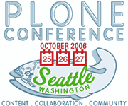 Full Plone Conference 2006 Schedule Announced