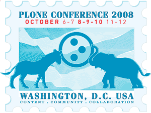 Plone Conference 2008 logo