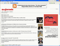 La Jornada uses Plone to cover the Mexican elections