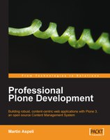 Book: Professional Plone Development now shipping!