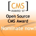 Vote For Plone in Packt Publishing Open Source CMS Award/Contest