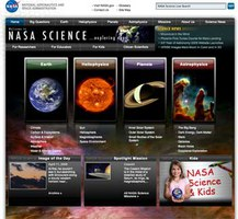 New NASA Science Mission Directorate website powered by Plone