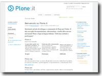 Plone.it - italian community website