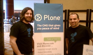 Plone Booth at Gilbane Conference a Success