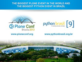 The biggest Plone event in the world and the biggest Python event in Brazil.