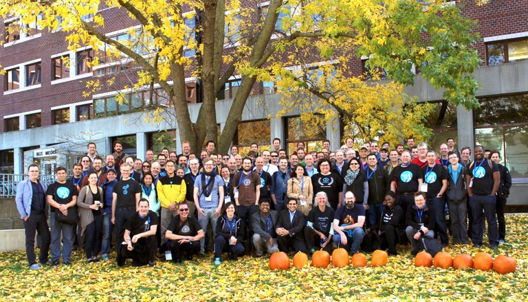 Plone Digital Experience Conference 2016 group photo
