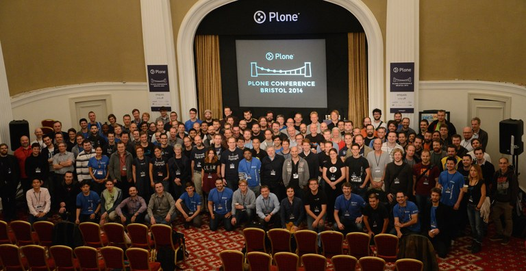 Plone Bristol Group Photo