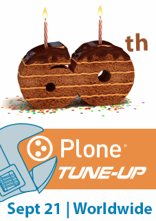 Plone 60th Tuneup Banner